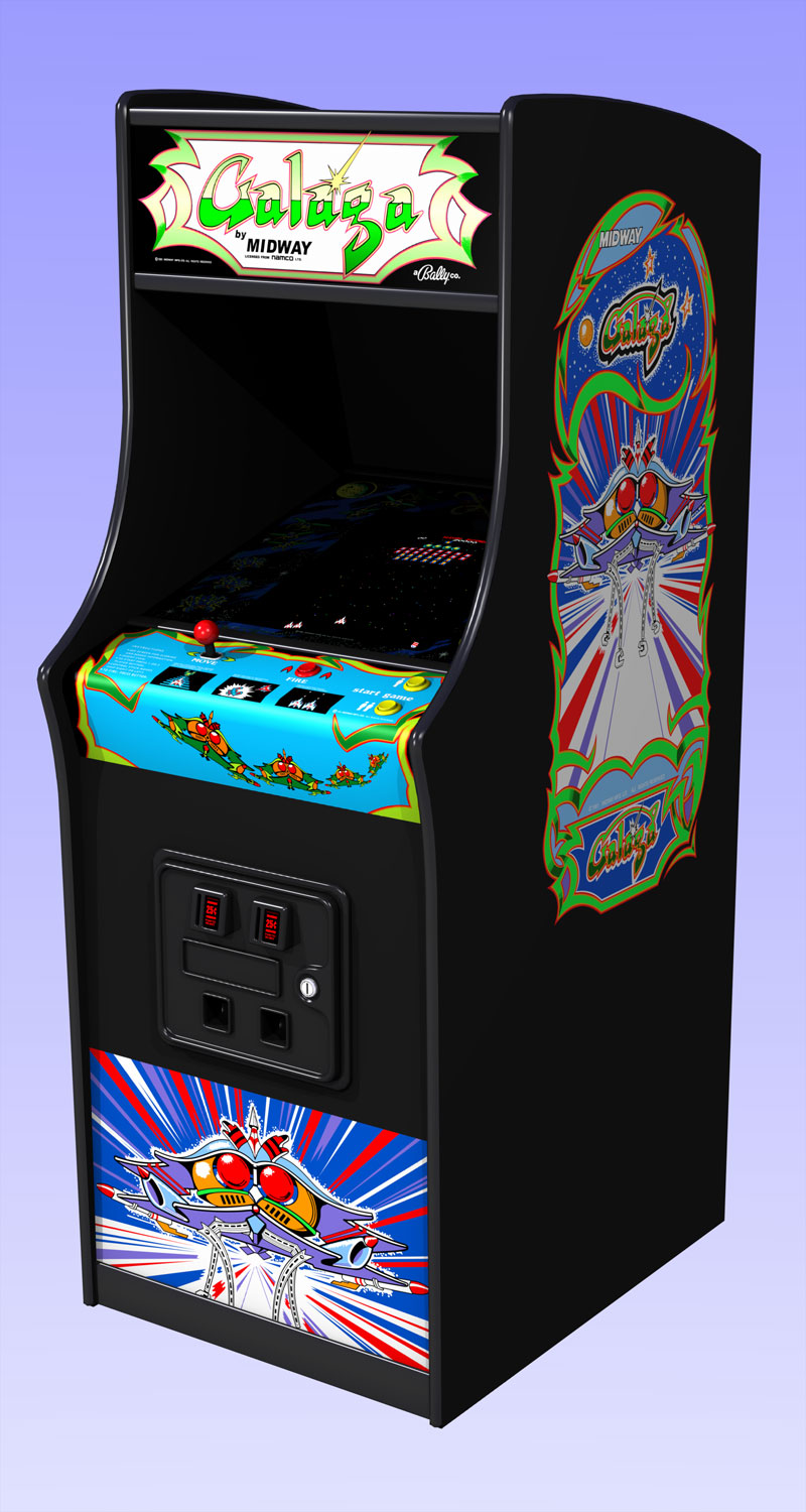 galaga arcade game - photo #3